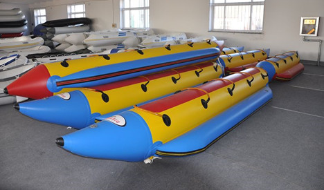 Inflatable Banana Boat 3.9Meter-7Meter/12.8Feet-23.1Feet